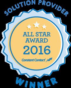 2016 Constant Contact al star