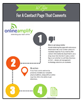 10 Tips For A Contact Page That Converts